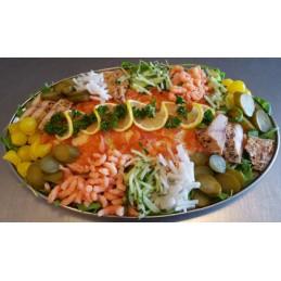 salade schotel zalm