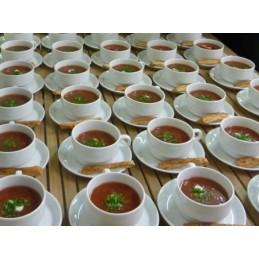 Groente-tomatensoep