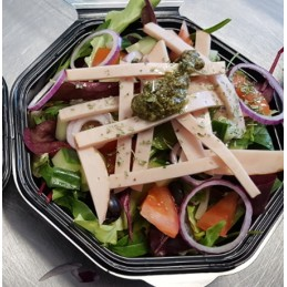Lunchsalade met kip