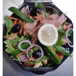 Lunchsalade tonijn-pasta