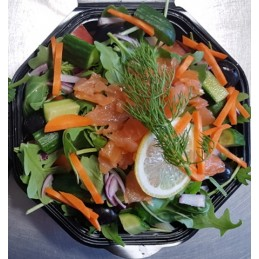 Lunchsalade-zalm
