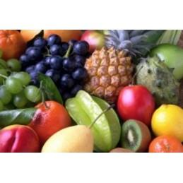 Dranken & vers gesneden fruit