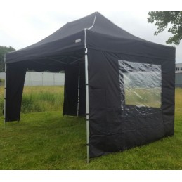 Party-tent, zwart, 3 x 4.5...